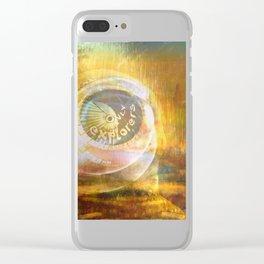EXPLORERS ONLY / The Biggest Spatial Eye / 26-08-16 Clear iPhone Case
