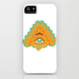 All Seeing Eye Gal iPhone Case