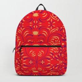 Ethnic folk ornament           Backpack