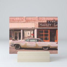 Vintage Car in Old Town No. 2 :: Lowell Arizona Mini Art Print