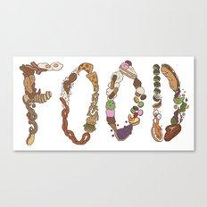 FOOD Canvas Print