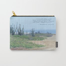 The Road Less Traveled (with quote) Carry-All Pouch