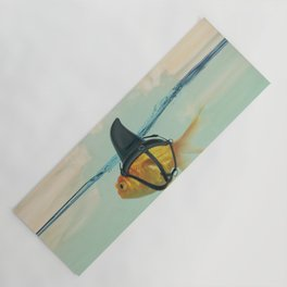 Brilliant DISGUISE - Goldfish with a Shark Fin Yoga Mat
