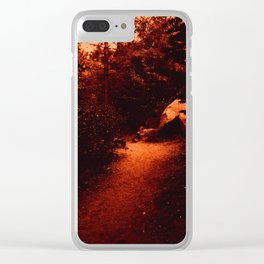0409 Clear iPhone Case