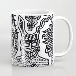 I was in a skeleton suit holding your hand... then I woke up / In honour of Donnie Darko Coffee Mug