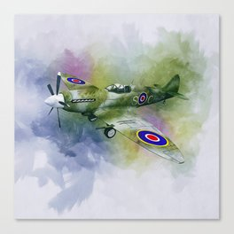 Spitfire Canvas Print