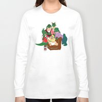 dinosaurs Long Sleeve T-shirts featuring Dinosaurs by Dionisia Tzavalas