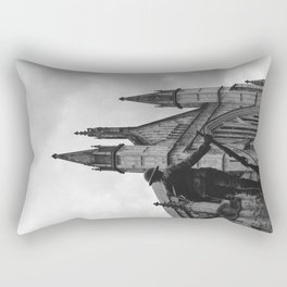 Soldier and cathedral Rectangular Pillow