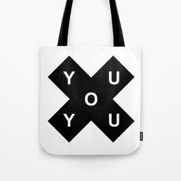 YOU X YOU Tote Bag