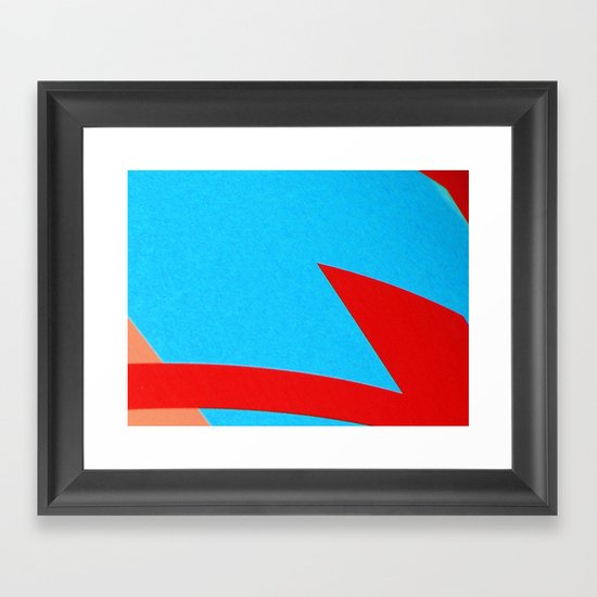 3 Cores Framed Art Print
