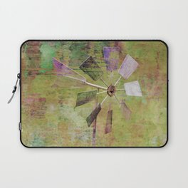 Windmill with color Laptop Sleeve