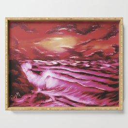 Crimson Tide Serving Tray