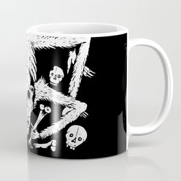 Mexican Day of the Dead Skull Man eater deadly scorpion Coffee Mug