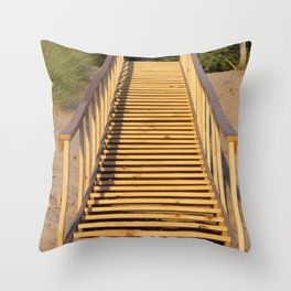 Save the Dunes - Use the Steps Throw Pillow
