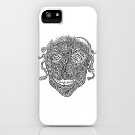 Medusa's Cousin Gerald iPhone Case