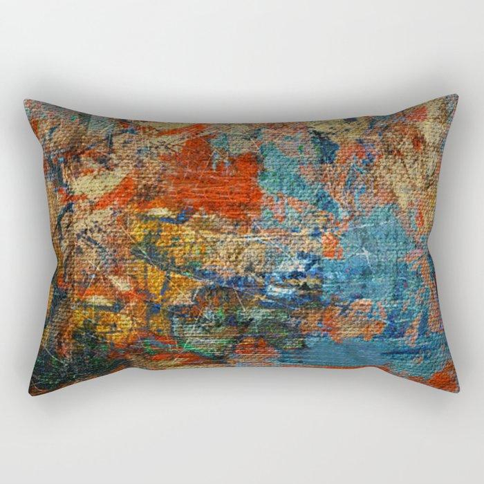Mannaz - Runes Series Rectangular Pillow