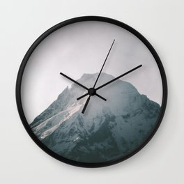 Mount Hood VII Wall Clock