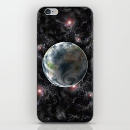Planet Earth-Space iPhone Skin