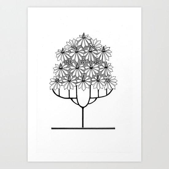 Tree Collection -1 Art Print