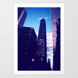Chicago Blues Art Print