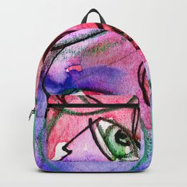 Abstract Nude Goddess No. 40F by Kathy Morton Stanion Backpack