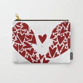Broken Heart Attack Carry-All Pouch