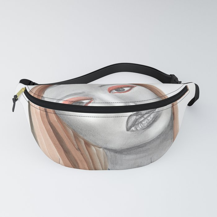 Girl with Braids Fanny Pack