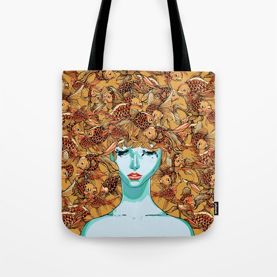 Head up, love Tote Bag