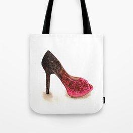 High Heels Painting Tote Bag