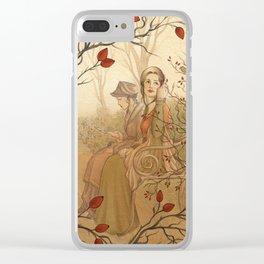 Jane Austen, Mansfield Park - the Garden Clear iPhone Case