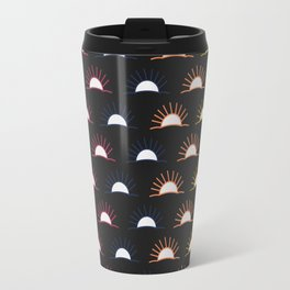 Sunset pattern Travel Mug