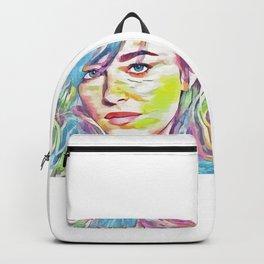 Dakota Johnson (Creative Illustration Art) Backpack