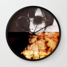Shining Wall Clock