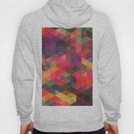 triangles pattern Hoody