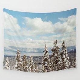 Tahoe Winter Wall Tapestry