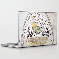 egg Laptop & iPad Skins featuring Egg by Infra_milk