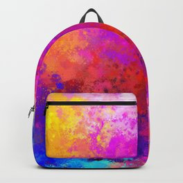 Colorful Splatter Backpack