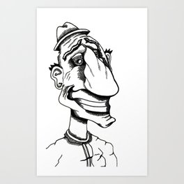 SHAFTED! Art Print
