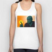 apocalypse now Tank Tops featuring Apocalypse Now Marlon Brando by CultureCloth