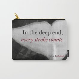 In the Deep End Carry-All Pouch