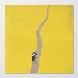 Torn Around - Path Canvas Print