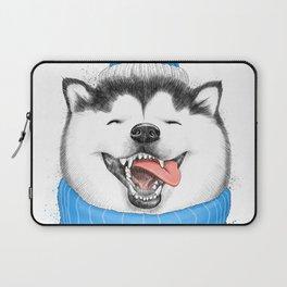 happy husky Laptop Sleeve