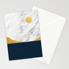 Landscape collage I Stationery Cards