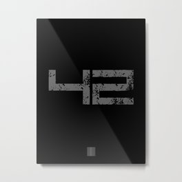 Utility Metal Print