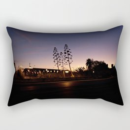 Across the Avenue Rectangular Pillow