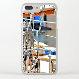 Ships Rigging Clear iPhone Case