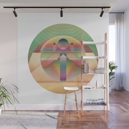 ∆ exist Wall Mural