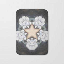 Flower Pentacle Bath Mat
