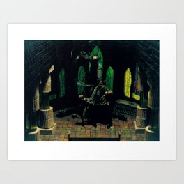 Benediction Art Print