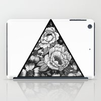triangle iPad Cases featuring Triangle by adroverart